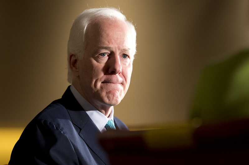 U.S. Sen. John Cornyn, R-Texas, is interviewed by Karen Tumulty of The Washington Post at the Texas Tribune Festival