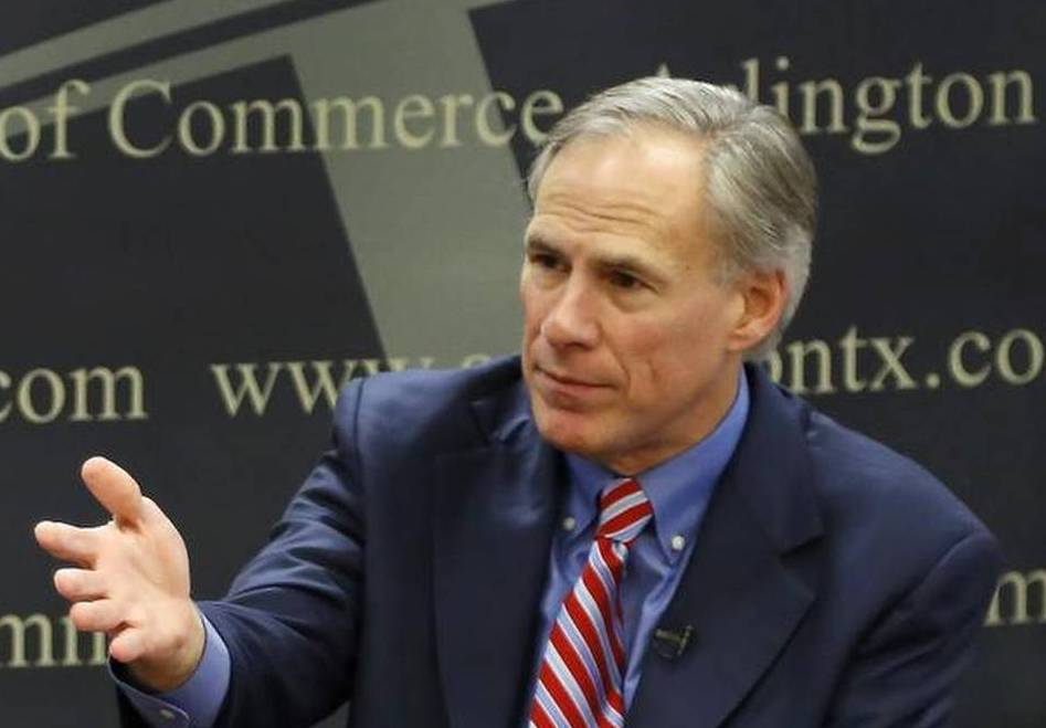 Texas Gov.-elect Greg Abbott speaks during a roundtable with local lawmakers at the Arlington Chamber of Commerce on Tuesday.