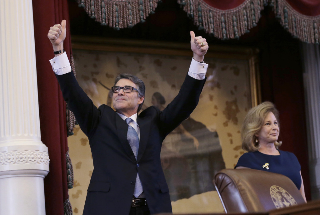 Rick Perry, Anita Perry