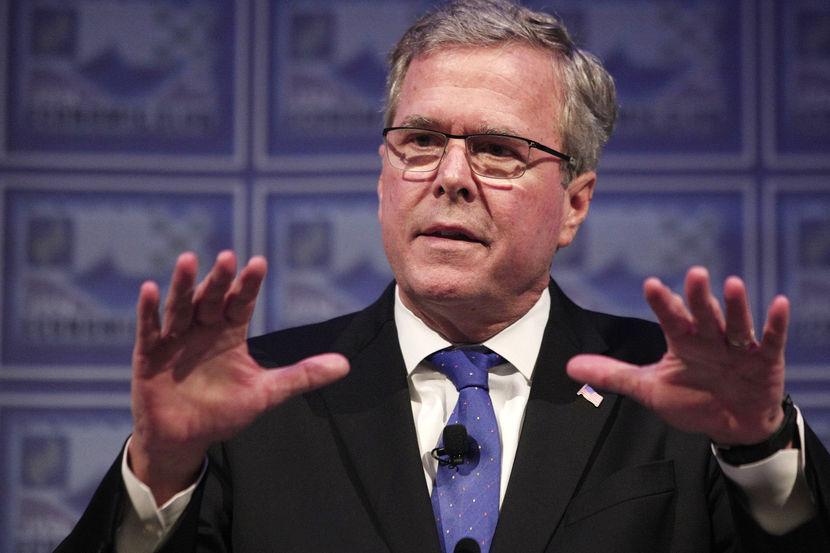 Image: BESTPIX Jeb Bush Speaks At Detroit Economic Club