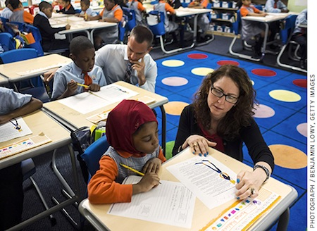 NEW YORK CITY, NY - JUNE 9: Eva Moskowitz of Success Academy Charter Schools at a Harlem location in June. (Photo by Benjamin Lowy/Getty Images)