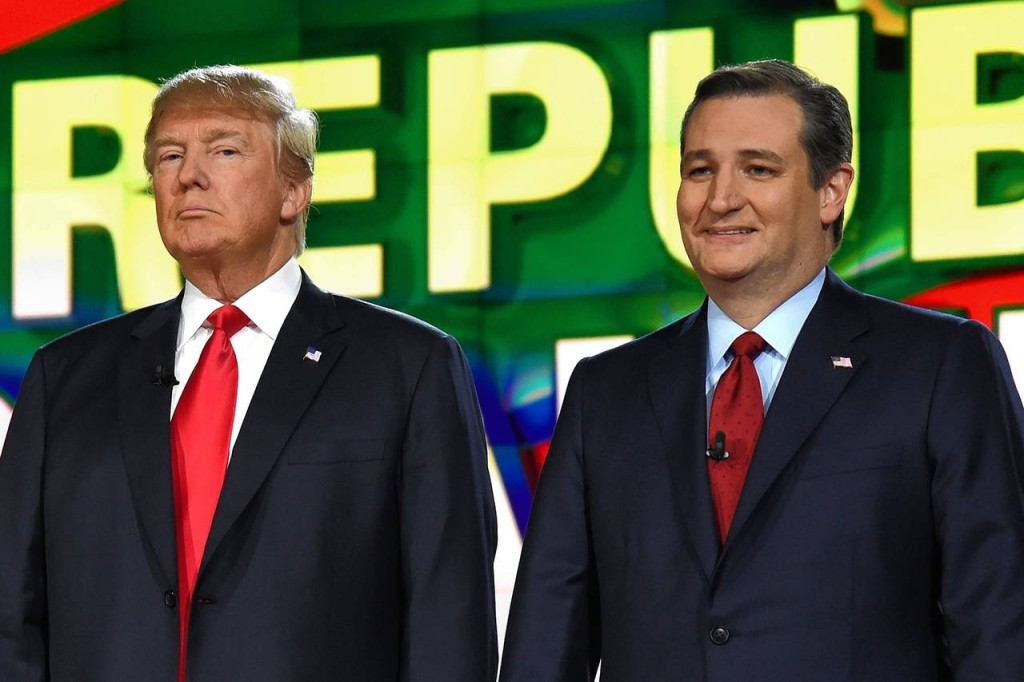 Trump  Cruz