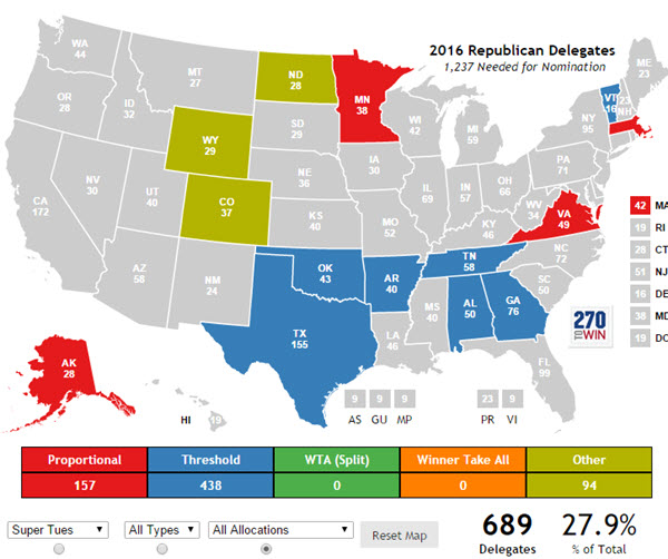 How Many Delegates Per State Map.How To Watch Tuesday S Returns Like A Data Geek Latinos Ready To Vote