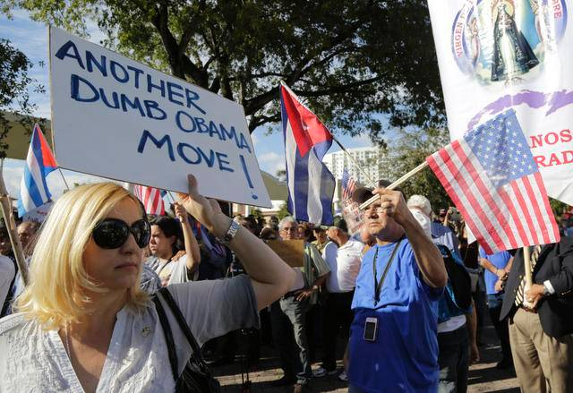 US Cuba Miami Protests (3)