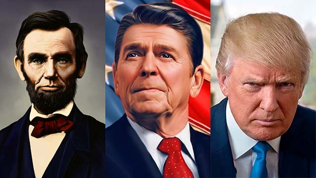 lincoln-reagan-trump