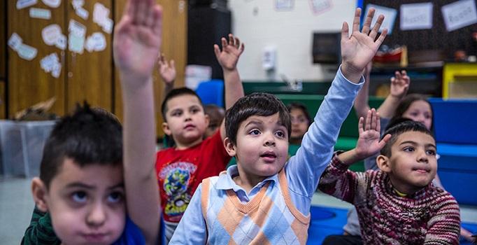 Full day kindergarten at Guilford Elementary school