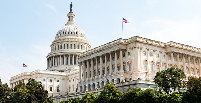 US Capitol Building and Home of Congress in Washington, DC