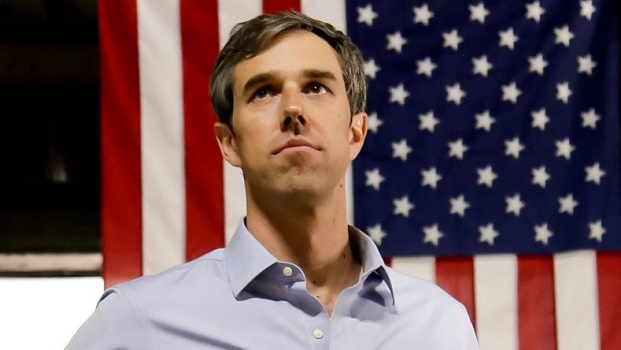 FILE PHOTO: Beto O'Rourke (D-TX) campaigns in Houston