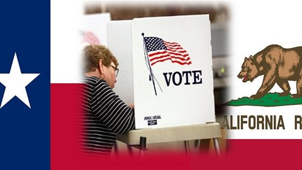 TX-CA Vote