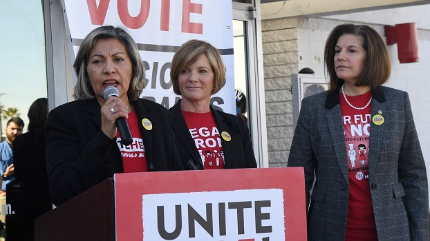 Early Voting Begins In Nevada Ahead Of State's Caucus Next Week