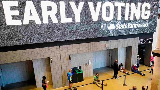 Election 2020 Voting Georgia